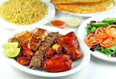 Mixed Kabob Platter for 4